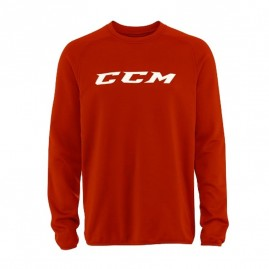 Mikina CCM Locker Room Red