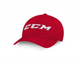Kšiltovka CCM Team FlexFit Cap Red