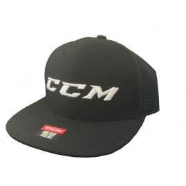 Síťovaný Snapback CCM Team Adjustable Black